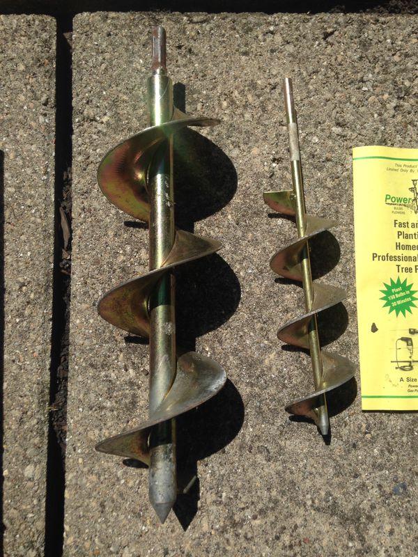 Bulb Planter Drill Attachment For Sale In Mchenry Il Offerup