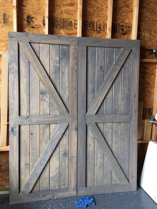 Custom Made Barn Doors For Sale In League City Tx Offerup
