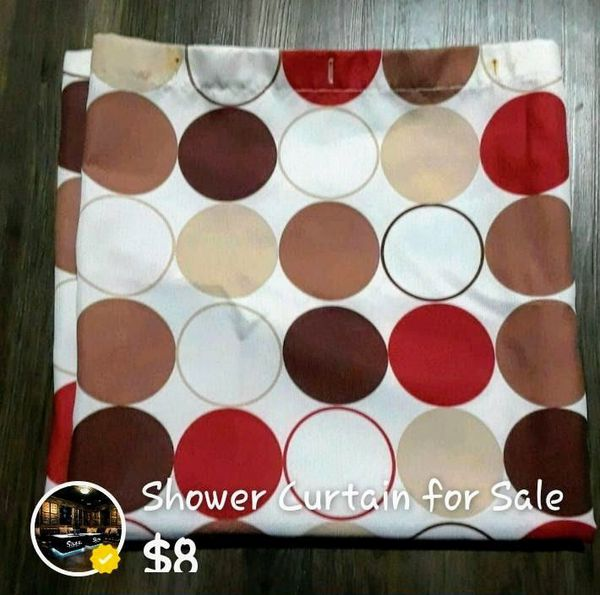 Polka Dot Shower Curtain For Sale In Brandon Fl Offerup