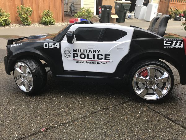 MP Custom Power Wheels Police Car For Sale In Olympia, WA
