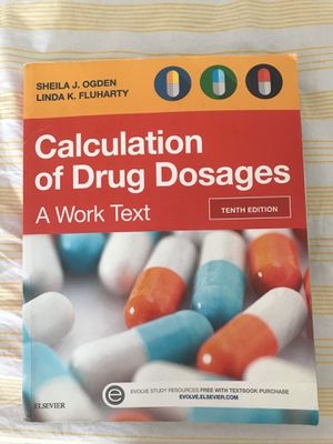 Calculation of drug dosages 10ed for Sale in Alexandria, VA