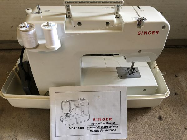 New And Used Sewing Machines For Sale In Manchester NH OfferUp Classy Singer Sewing Machine 1409 Manual