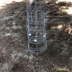 Tomato cage Galvanized Thumbnail