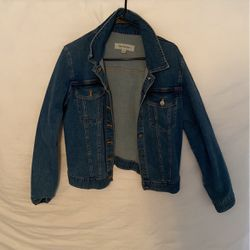 Jean Jacket With Red Tongue Thumbnail