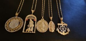 Gold filled mens chains $80 each for Sale in Orlando, FL