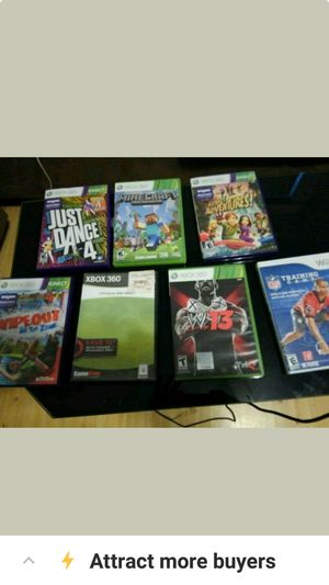 Xbox 360 games and 1 Wii game, used for sale  Tulsa, OK