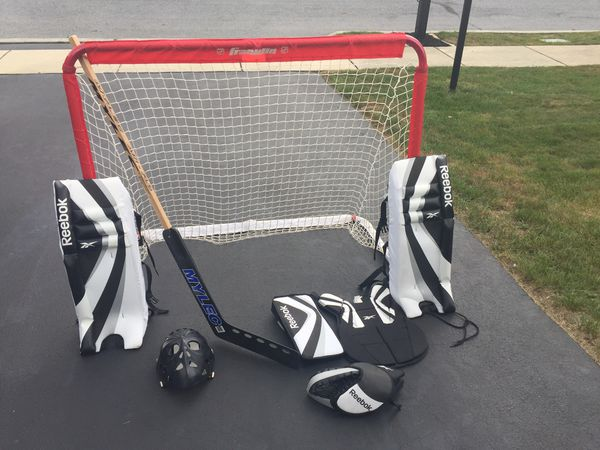 Street Hockey Goalie Gear With Net For Sale In Harrisburg Pa Offerup