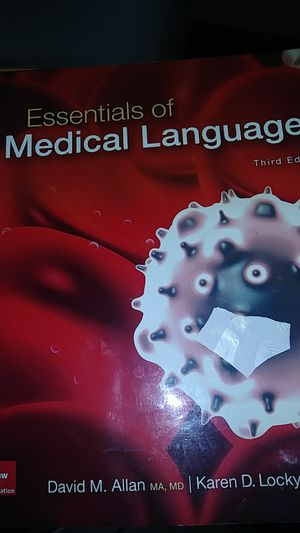 Medical essential language book for Sale in Cleveland, OH