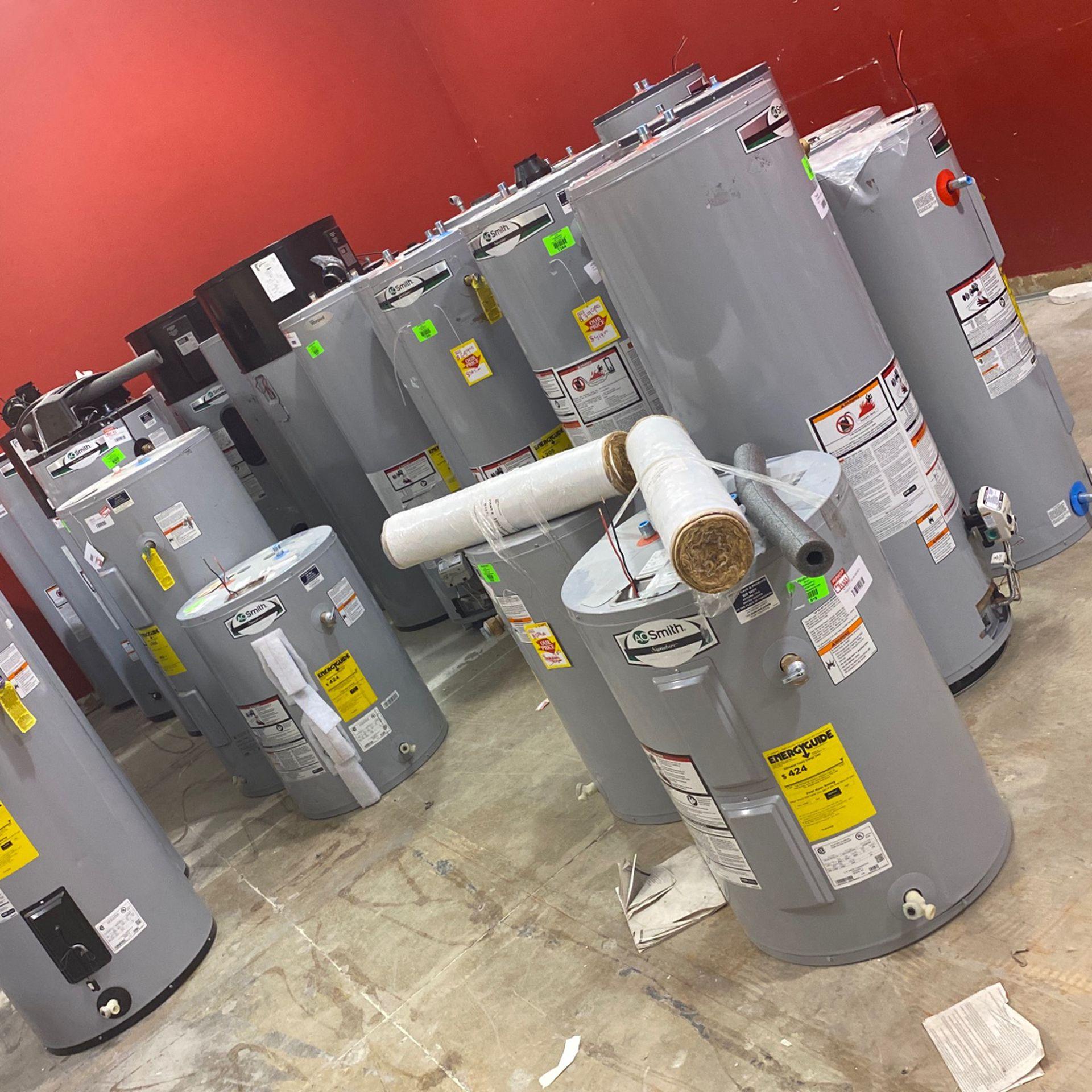 Water Heater Liquidation Sale 😀😀😀