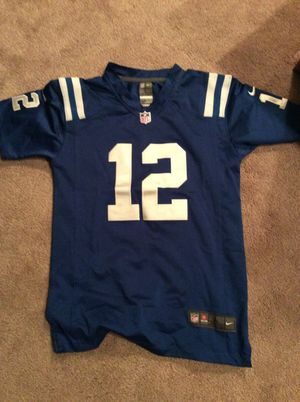 sale retailer 70781 090f4 Andrew Luck stitched NFL jersey for Sale in Georgetown, DE - OfferUp