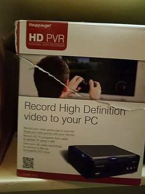 HD Video Capture For Live TV or Video Games for Sale in North Potomac, MD