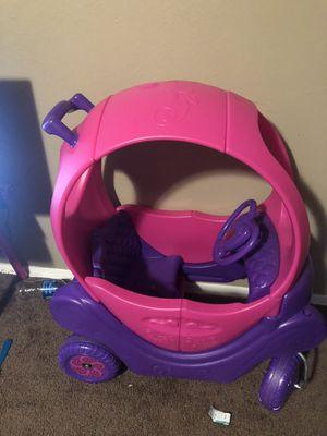 Little girls musical car push cart for Sale in Salt Lake City, UT