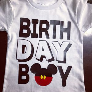 Mickey Birthday Boy Disney Shirts Custom T Shirt Mouse For Sale In Miami FL