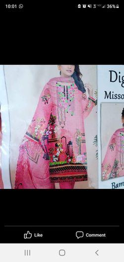Indian pakistani dresses stitch size small only Thumbnail