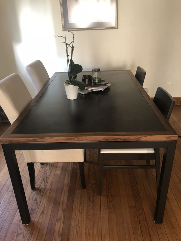 Crate Barrel Parsons Table For Sale In Milwaukee Wi Offerup