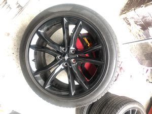Dodge 20s wheels and tires for Sale in Oakland, CA