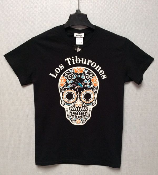 more photos d8c09 27438 San Jose Sharks Los Tiburones Day of the Dead T-Shirt Adult Small New NWT  for Sale in San Jose, CA - OfferUp