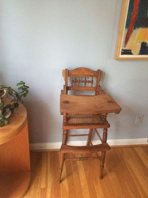 Antique high chair for Sale in Aspen Hill, MD