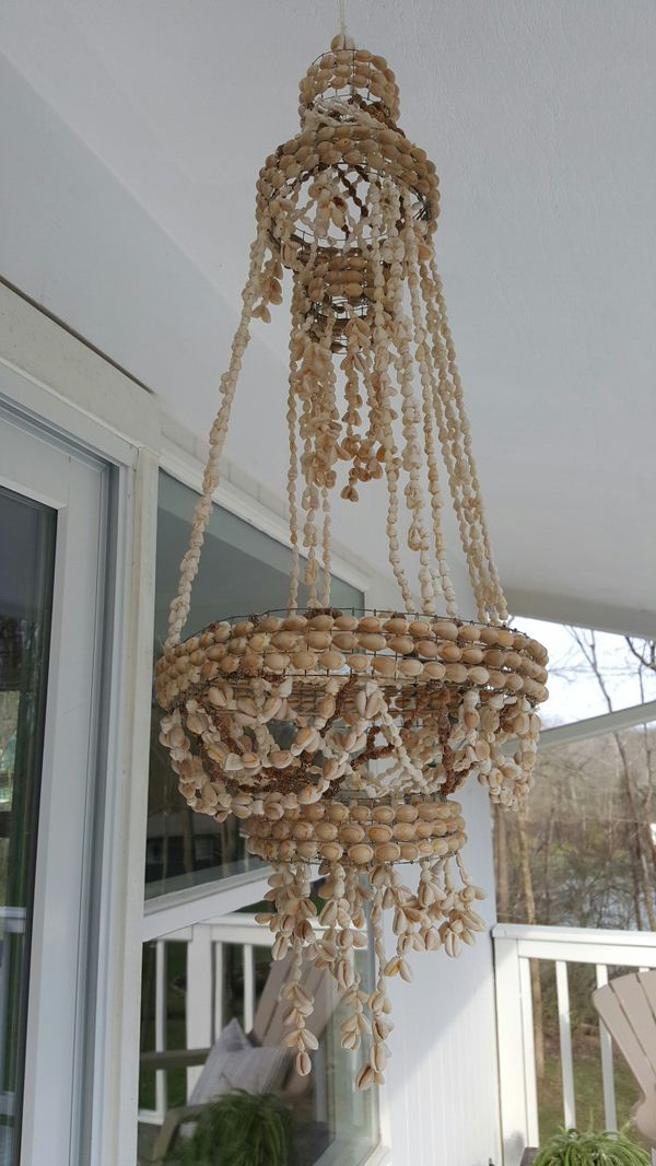 Vintage bohemian shell chandelier plant hanger for sale in vintage bohemian shell chandelier plant hanger for sale in indianapolis in offerup aloadofball Choice Image