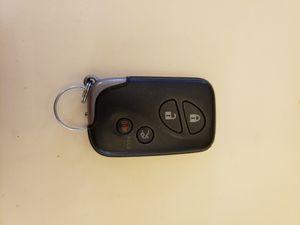 Lexus Key Fob, Smart Key for Sale in Elk Grove, CA