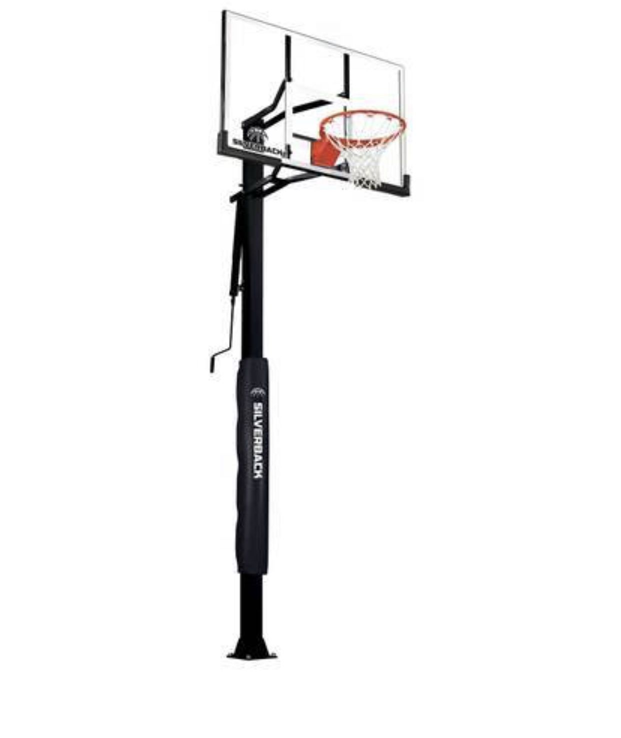 """Silverback 60"""" In-Ground Basketball System with Adjustable-Height SB60"""