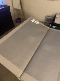 Bed frame only queen size Thumbnail