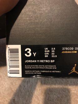 Jordan's 11 Retro Thumbnail