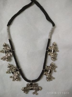 Antique look white mattel necklace for Sale in Apex, NC