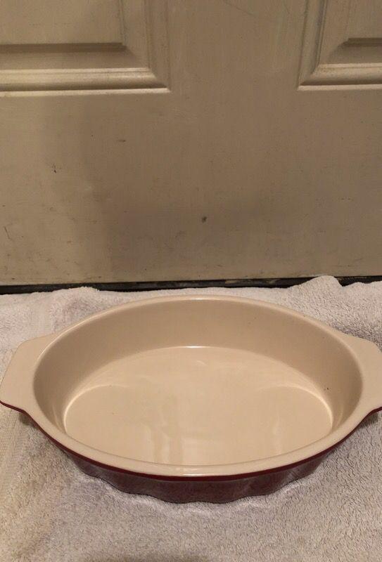 Good Cook 04489 OvenFresh Stoneware Ceramic Casserole Dish, 1.75 ...