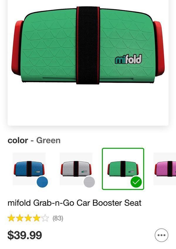 Mifold Grab N Go Car Booster Seat For Sale In Berkley MI
