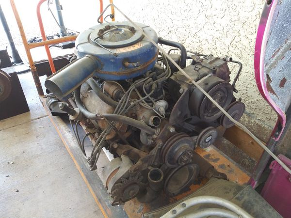 1966 Ford 289 engine and C4 transmission complete with a AC for Sale in  Folsom, CA - OfferUp