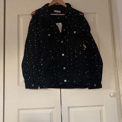Carli Bybel X Misguided Jacket Thumbnail