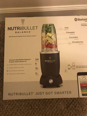 NutriBullet Balance 1200W Bullet Blender for Sale in Ashburn, VA