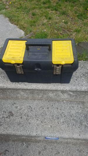 Photo Stanley plastic storage tool box