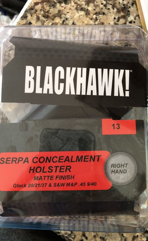 Glock 20/21/37 and S&W M&P  45 9/40 Blackhawk paddle holster for Sale in  Thomasville, NC - OfferUp