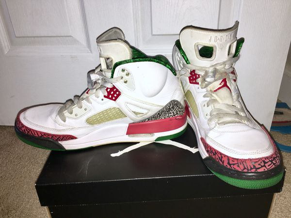 brand new 43e5b 8acba Nike Air Jordan Spizike, white-red-green, size 11 for Sale in Nashville, TN  - OfferUp