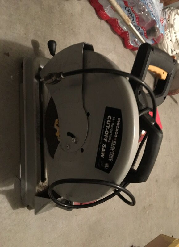 Cut Off Saw Chicago 60 Brand New For In Henderson Nv Offerup