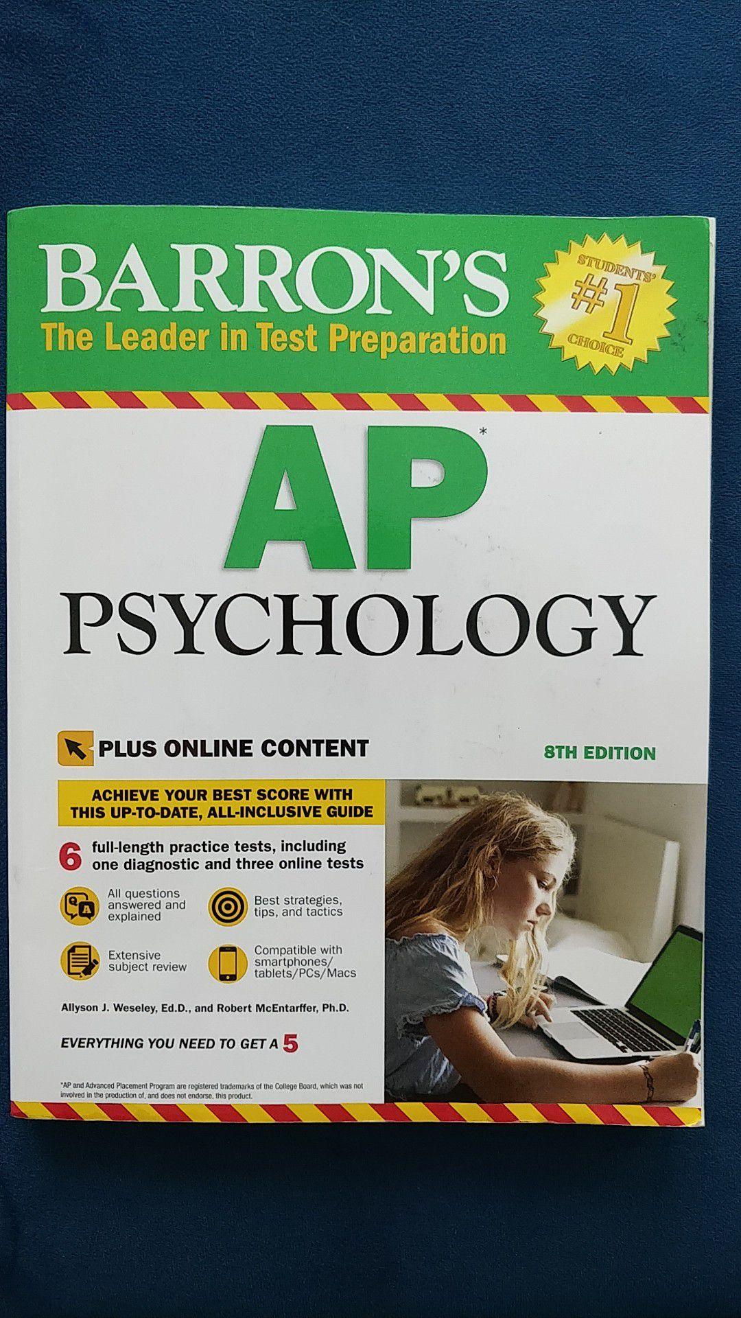 Barron's AP Psychology Review