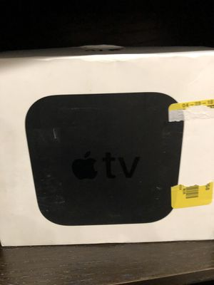 Apple TV HD4k 32 Gig for Sale in Needham, MA