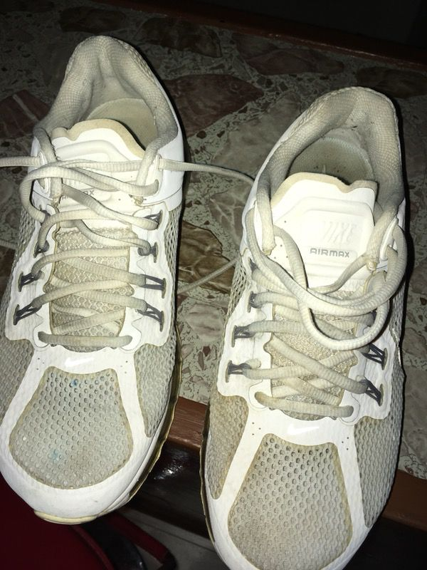 best website 3b733 f4c88 NIKE AIR MAX 2013 WHITE WOLF GREY 554886-100 2012 2014 2015 SHOES SZ 10