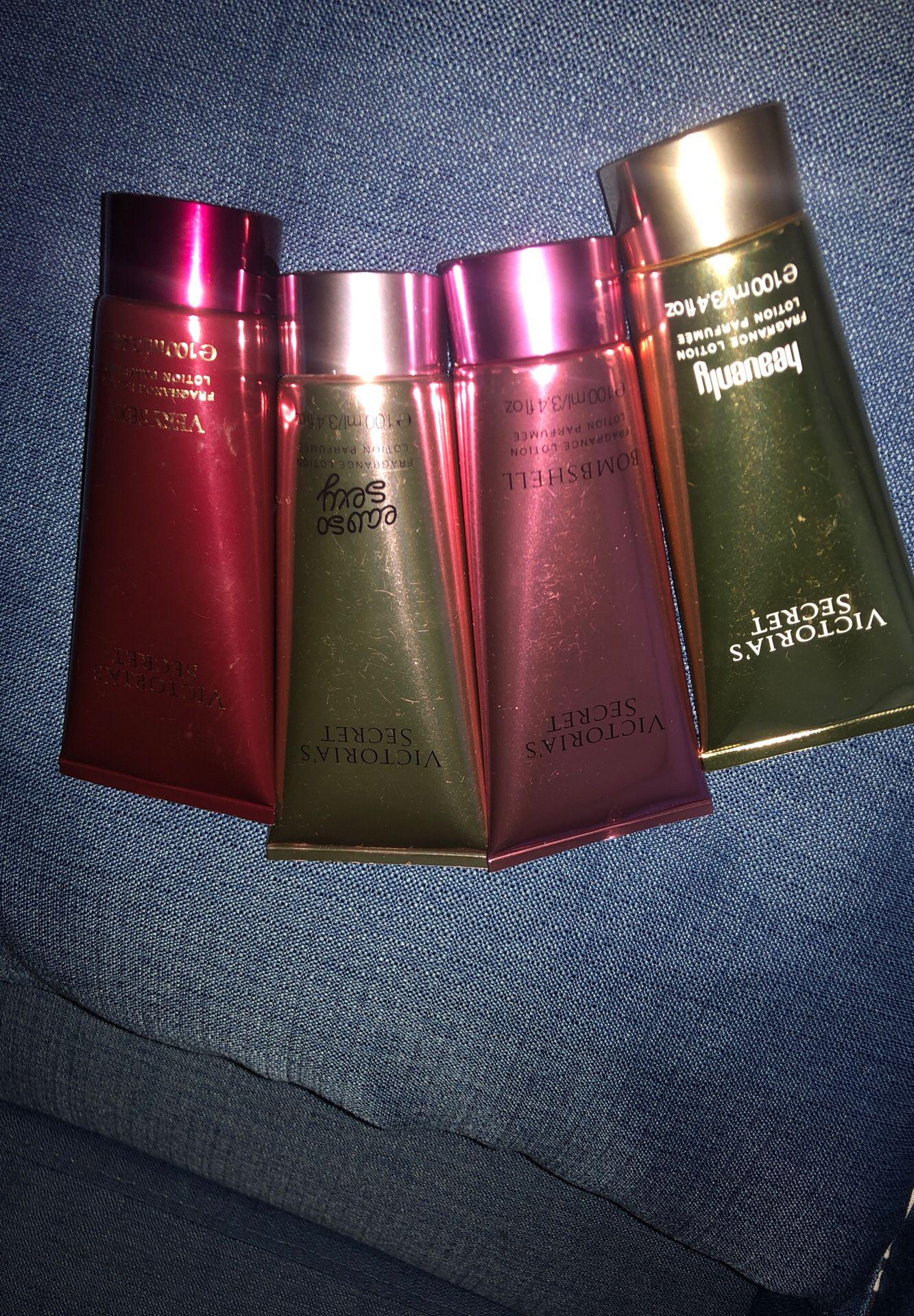Victoria's Secret lotions