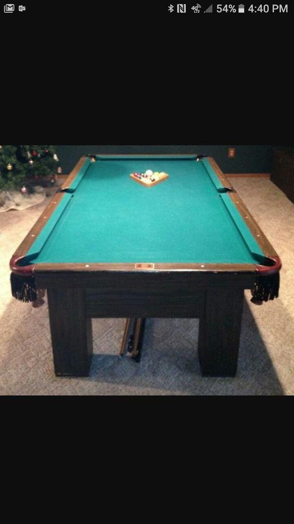Delmo Billiards Ft Slate Pool Table Professional Regulation Size - Delmo pool table