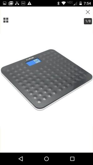 Accuweight 400lb/180kg LCD Electronic Digital Bathroom Scale AW-BS002WHU for Sale in Clermont, FL