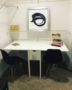 Brand New Desk, Chairs and painting package! for Sale in Cleveland, OH