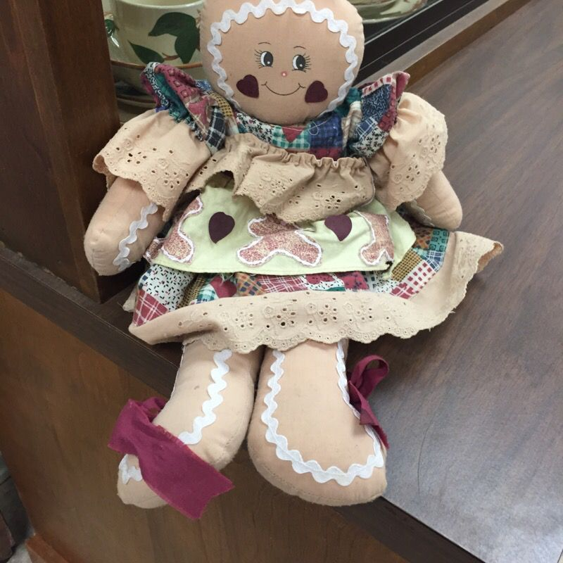 Gingerbread Cloth Doll