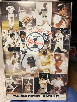 1978 NY Yankees Poster Framed Thumbnail