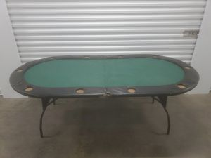 Photo Poker table
