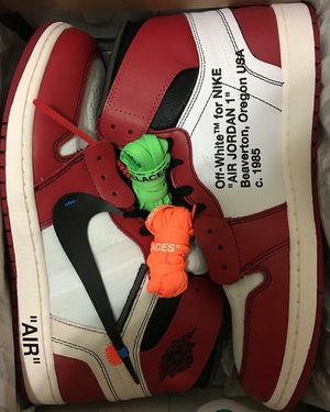 Ds off white Chicago 1s for Sale in Chantilly, VA