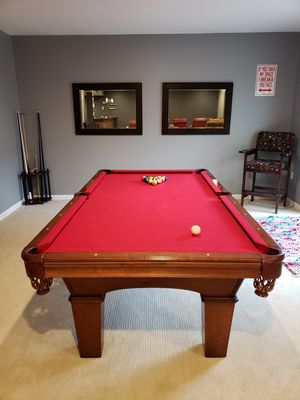 "8"" Olhousen pool table for Sale in Silver Spring, MD"