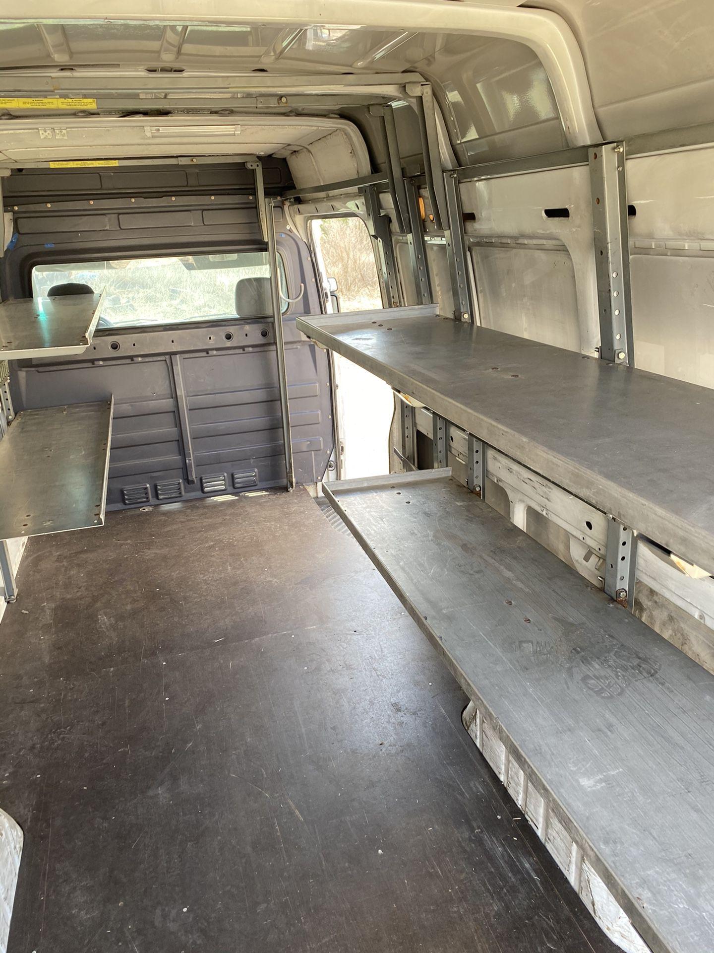 Shelving Unit For Van